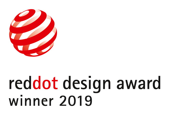 Accreditations/Red Dot award 2019