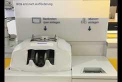 Zukunftskonzept Kompakt Filiale Glory Unterstützt Postbank Mit